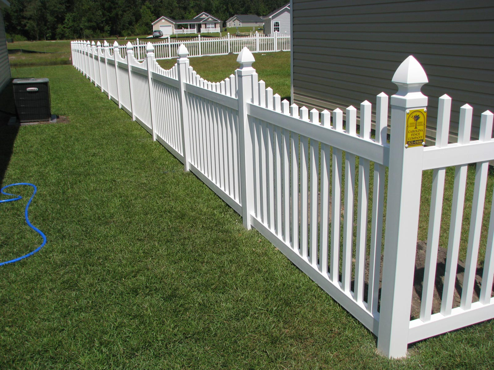 Vinyl fences charleston sc carolina fence company